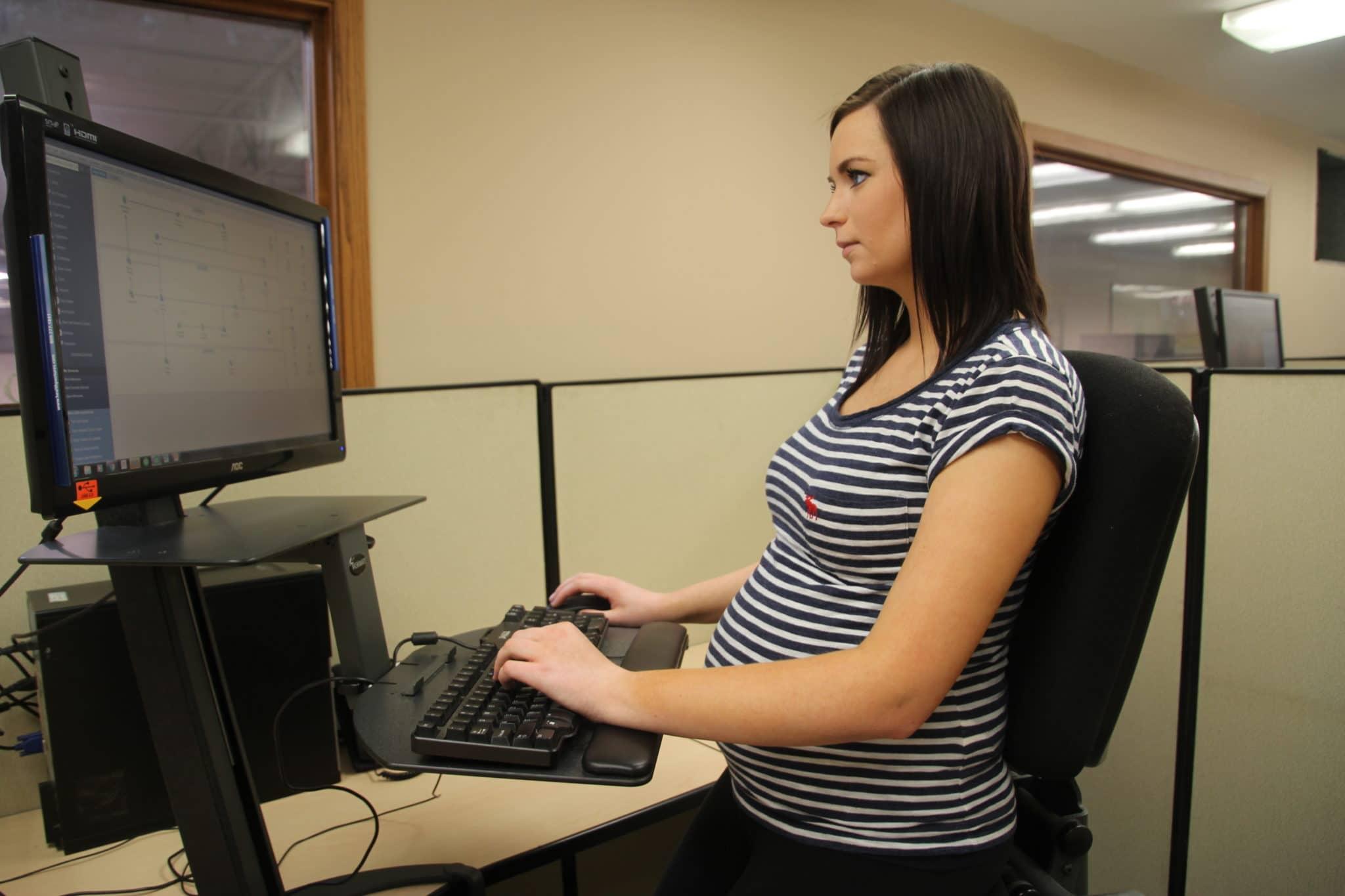 Вред компьютера во время беременности